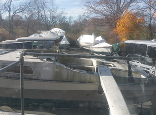 Another Beautiful Fall!  But time to put the boat away...