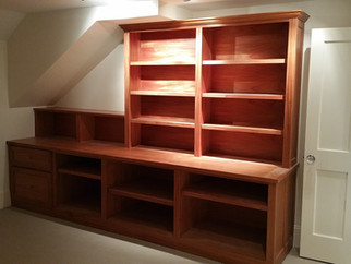 Home Office Shelving Cabinet -