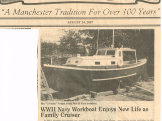 A Little History...about this 72 year old USN Lifeboat...