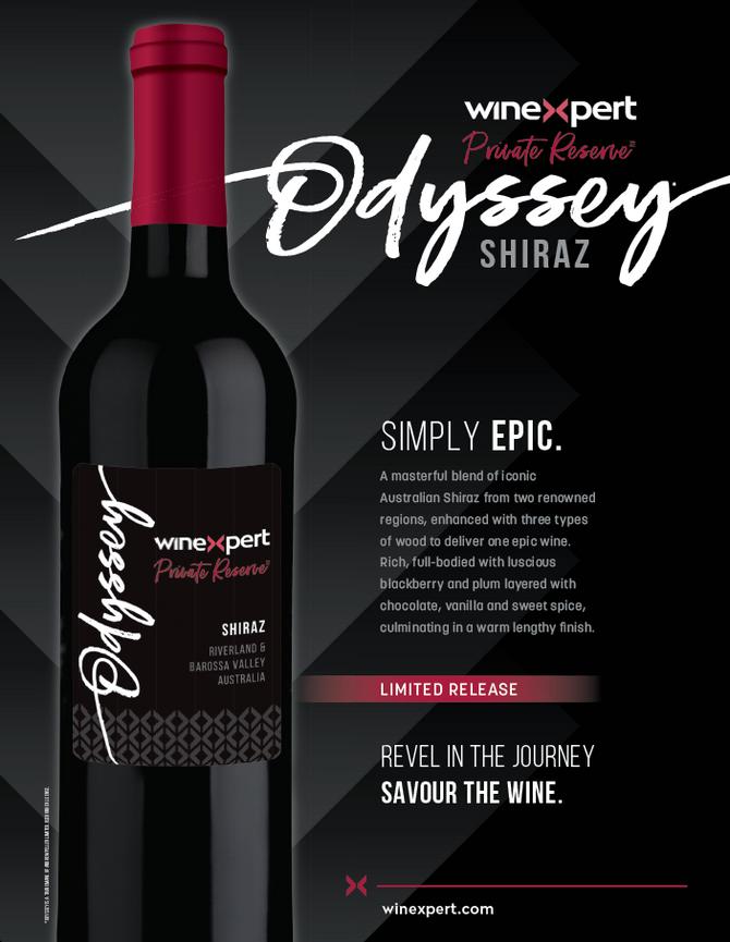 Winexpert Private Reserve Odyssey Shiraz