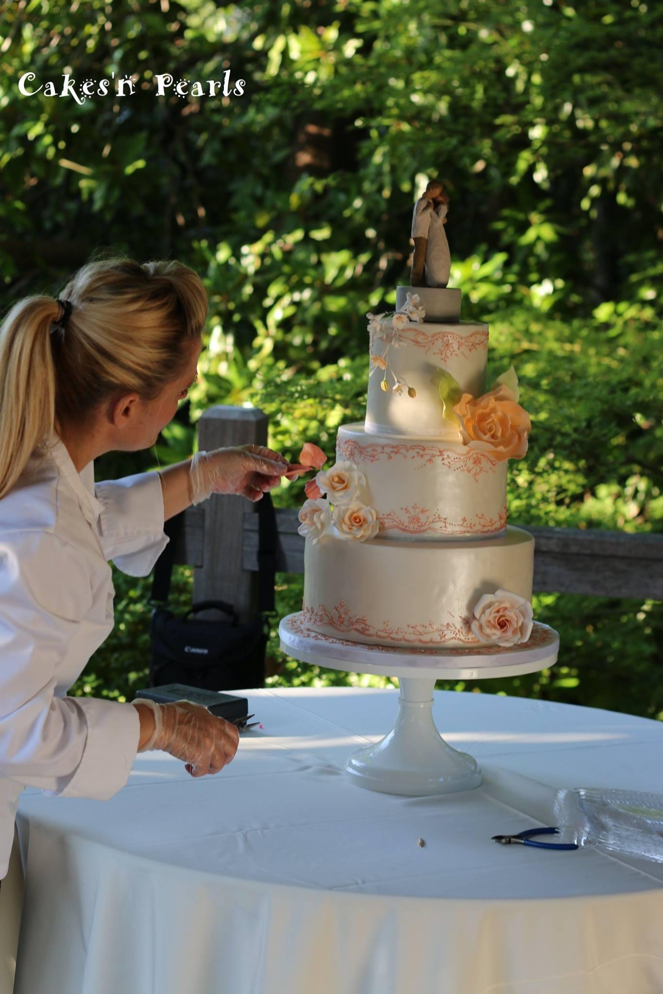 Wedding Cakes Dallas Fort Worth Cakesu0027n Pearls In Roanoke Texas