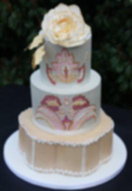 Dallas TX wedding cake