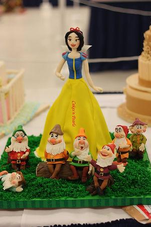 snow white cake baker dallas