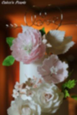 wedding cake flowers dallas