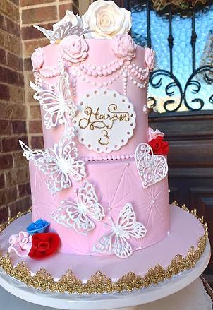 Princess birthday cake cake baker dallas