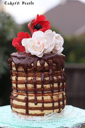 Tiramisu tiered cake Dallas