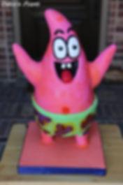 Sponge Bob Patrick cake baker dallas