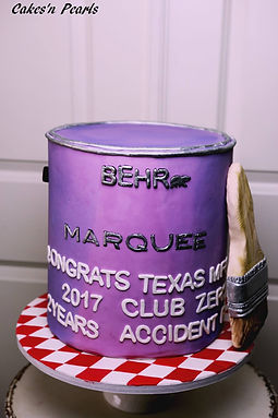 paint can cake baker dallas