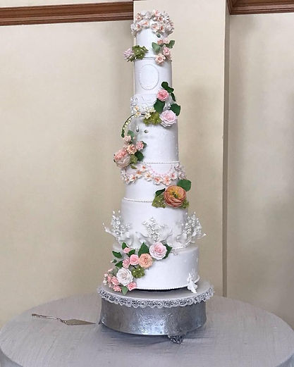 tall wedding cakes custom made dallas