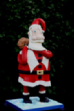 Santa Clause cake baker dallas