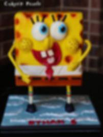 Sponge Bob cake baker dallas