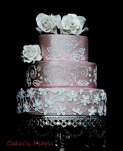 Dallas Texas wedding cake