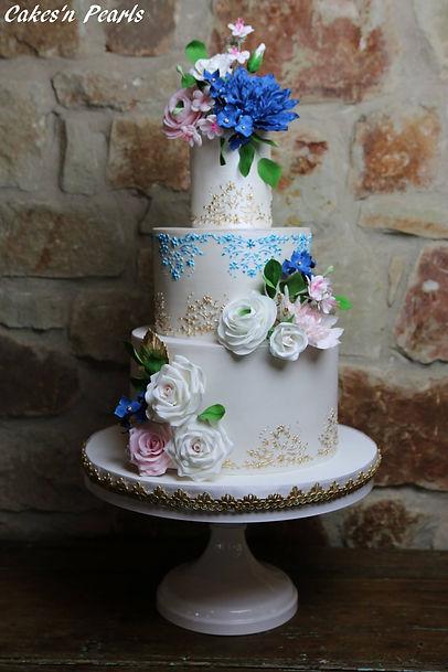 tiered wedding cake baker dallas
