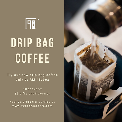 Drip Bag Coffee Tasting Box - 10pcs