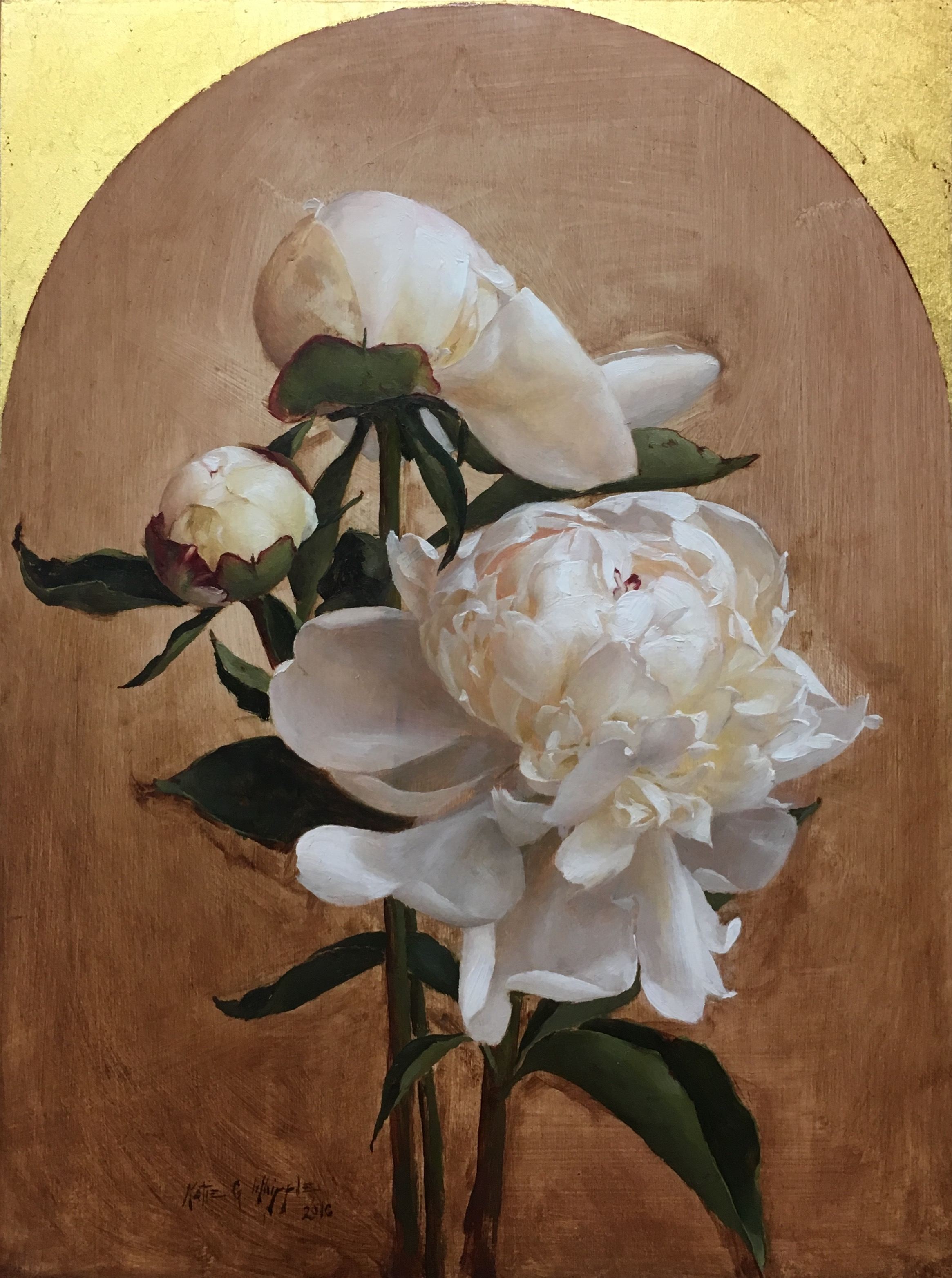 Three Peonies II