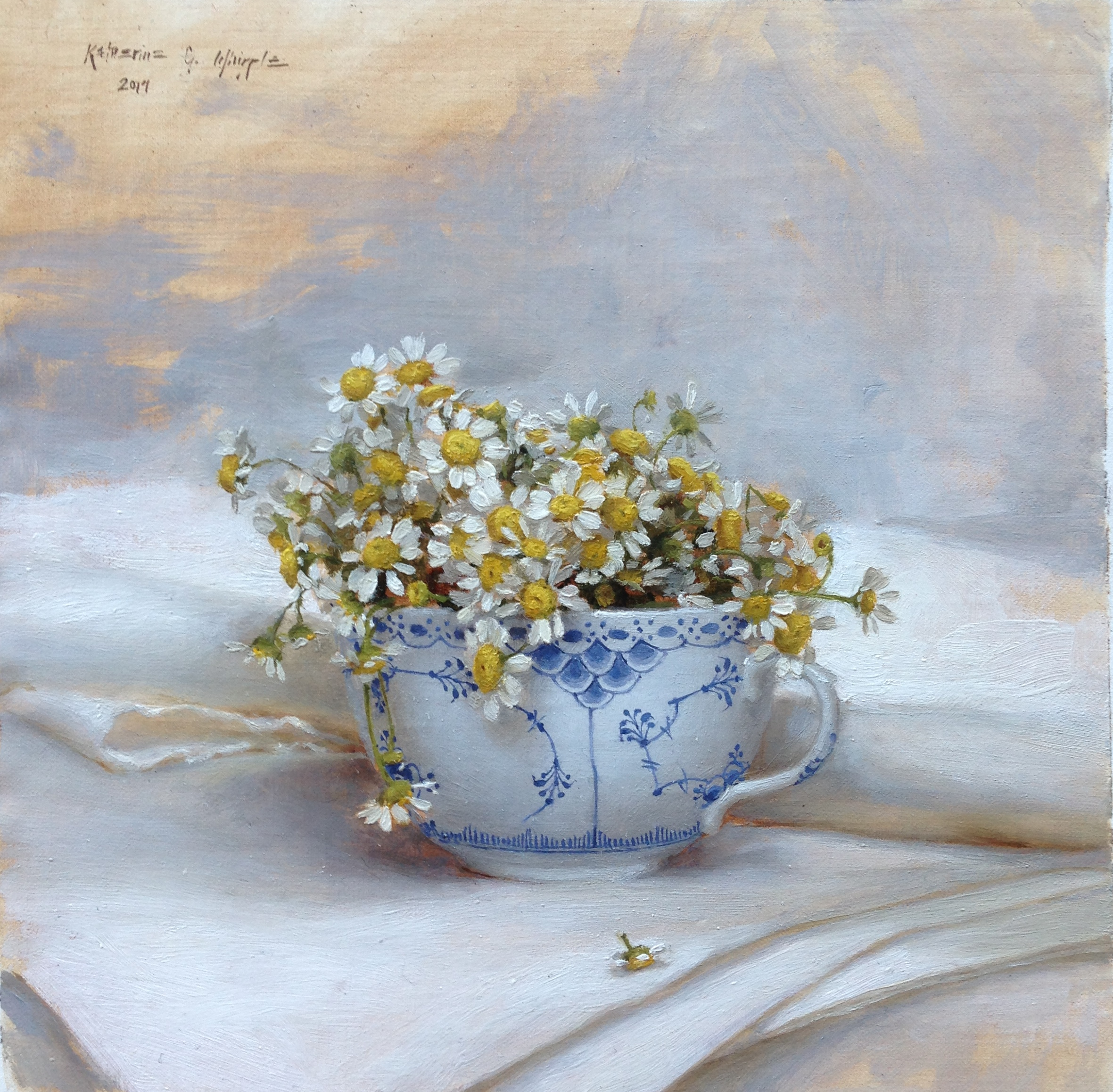 Chamomile in Royal Copenhagen