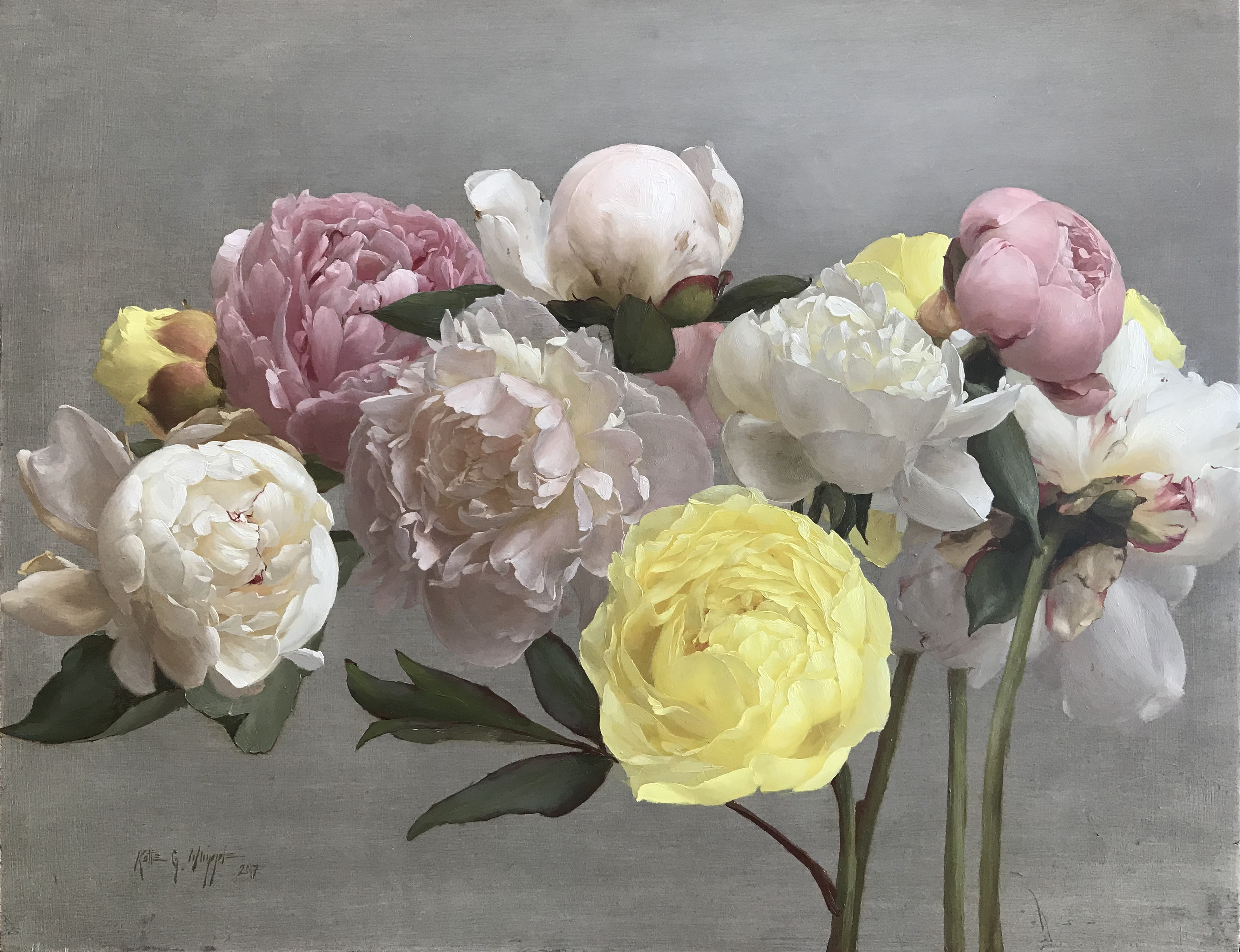 Peonies for Nona