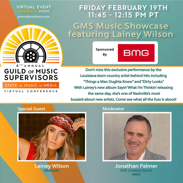 Music Showcase Ft Lainey Wilson Presented By BMG