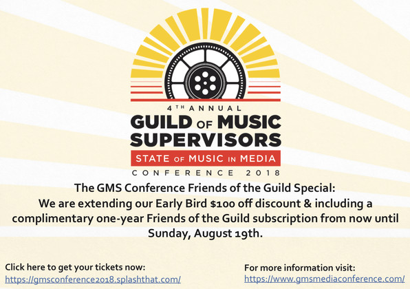 The GMS Conference Friends of the Guild Special