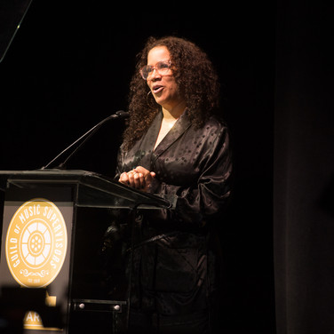Madonna Wade Reed Presenting at the 9th Annual GMS Awards