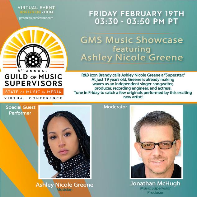 Music Showcase Ft Ashley Nicole Greene