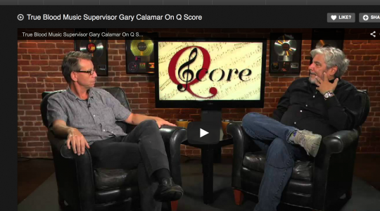 GARY CALMAR ON TRUE BLOOD FINALE ON Q SCORE