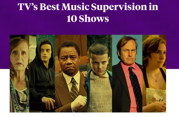 Pitchfork - TV's Best Music Supervision in 10 Shows