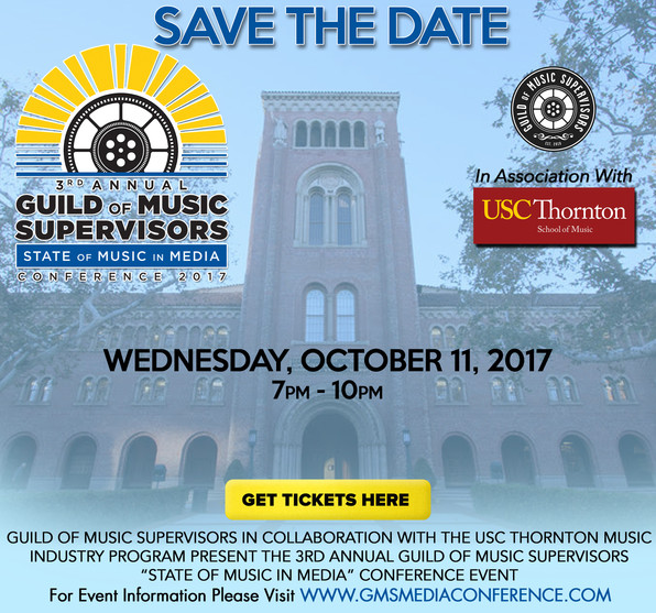 3rd Annual GMS State Of Music In Media Conference 2017