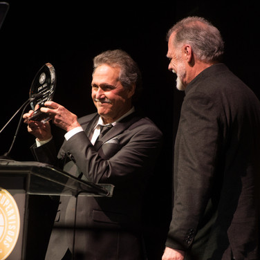 Joel Sill and Taylor Hackford at the 9th Annual GMS Awards