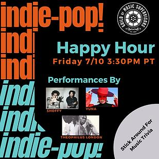 Indie-Pop GMS Happy Hour - Flyer Levi.pn