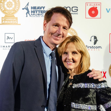 John Houlihan and Julie Houlihan At the 9th Annual GMS Awards