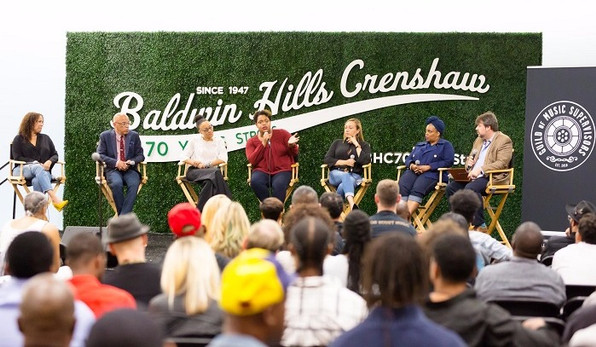 Guild of Music Supervisors Share Industry Knowledge in Q&A Panel at Baldwin Hills Crenshaw Plaza