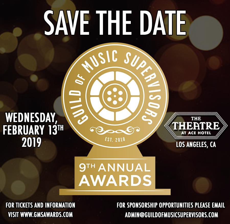 Past Awards - Guild of Music Supervisors