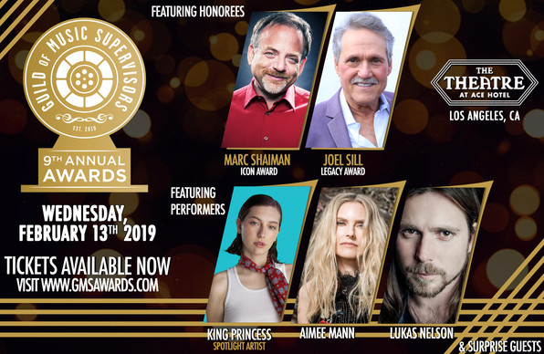 2019 GMS Awards to feature Marc Shaiman, Joel Sill, King Princess, Aimee Mann, and Lukas Nelson