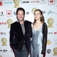 Rob Morrow and Daughter Tu Morrow at the 9th Annual GMS Awards
