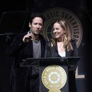 Rob Morrow and Robin Urdang Presenting at the 9th Annual GMS Awards