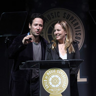 Rob Morrow and Robin Urdang Presenting at the 9th Annual GMS Awards