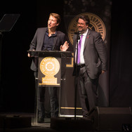 Shawn Lemone and Thomas Golubić Presenting at the 9th Annual GMS Awards