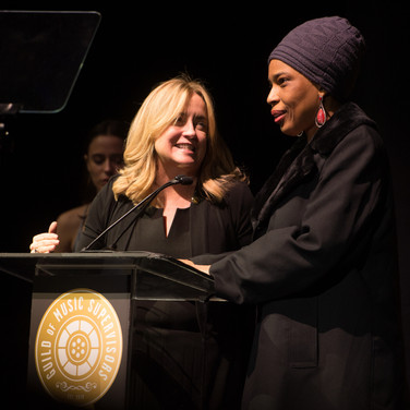 Maureen Crowe and Macy Gray Presenting at the 9th Annual GMS Awards