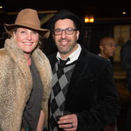 Chris Lennertz & Wife Shannon Lennertz at the 9th Annual GMS Awards