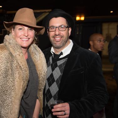 Chris Lennertz & Wife Shannon Lennertz at the 9th Annual GMS Awards