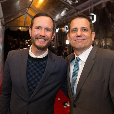 Cheapshot and Dave Jordan at the 9th Annual GMS Awards