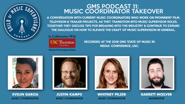 GMS Podcast 11: Music Coordinator Takeover