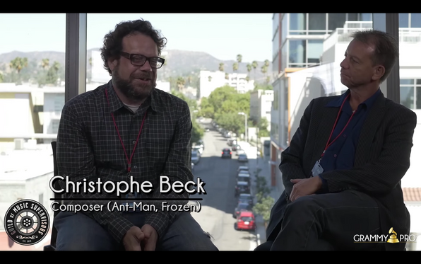 Christophe Beck Talks Peanuts At The Guild Of Music Supervisors State of Music in Media - Emerson LA