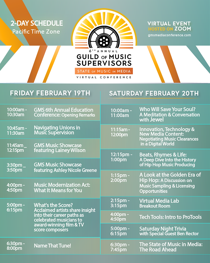 Event Schedule Flyer (WITHOUT MembersOnl