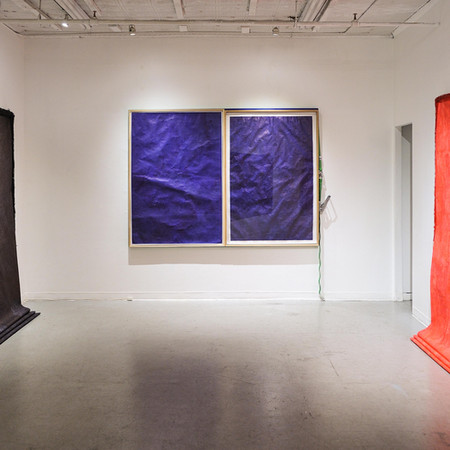 Solo Exhibition at Chinese American Art Council, Broadway New York