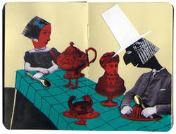 Alice teaparty