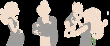 Kurse für Mama's & Baby's bei Praxis GROSS & klein