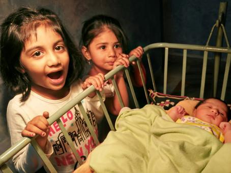 My grand daughters-Dhruvi, Rishika & Rithika