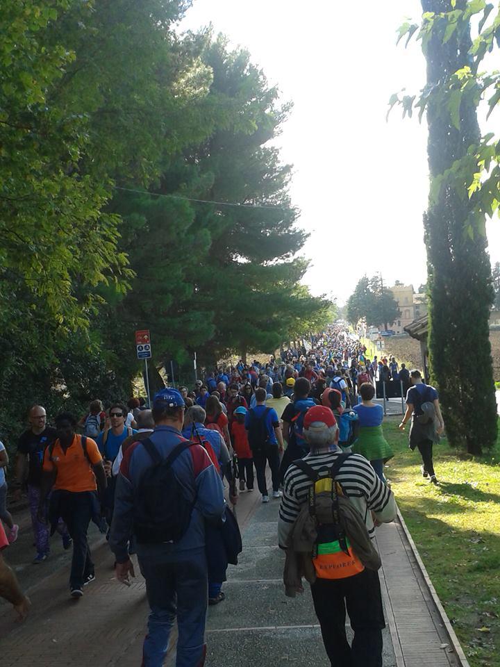 Marcia della pace, Assisi 2016